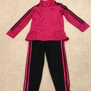 Adidas girls size 4T
